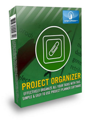 Product picture Easy To Use Project Planner Software