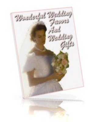 Product picture Memorable and Romantic Wedding Favors and Wedding Gifts